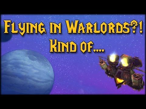 [Warlords] Flying In Draenor! Shredders OP!