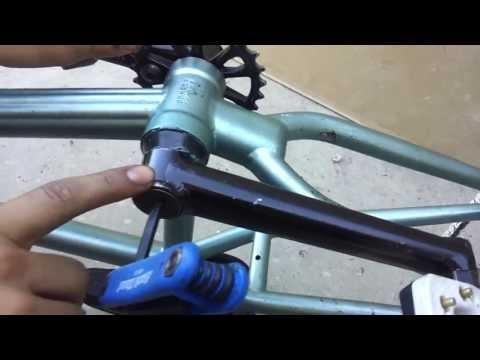 How to Install Odyssey Twombolt Bmx Cranks