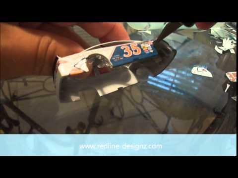 Redline Designz - How to decal a 1/64 scale Diecast