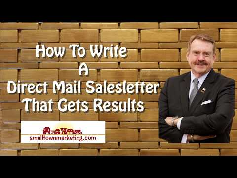 [Podcast] How to Write A Direct Mail Sales Letter That Gets Results