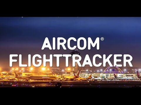 Real-time flight monitoring and tracking wherever you fly