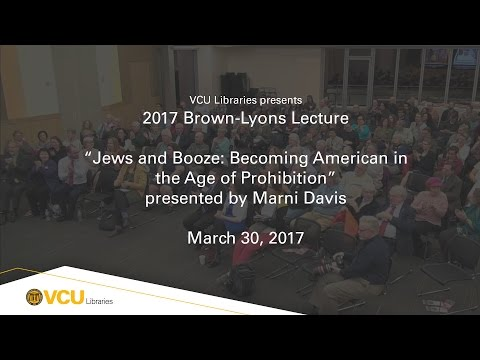 VCU Libraries Brown-Lyons Lecture 2017: