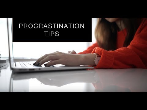 How to Stop Procrastinating | Medical Student Procrastination Tips