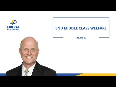 Leyonhjelm on cutting the childcare rebate for high income earners