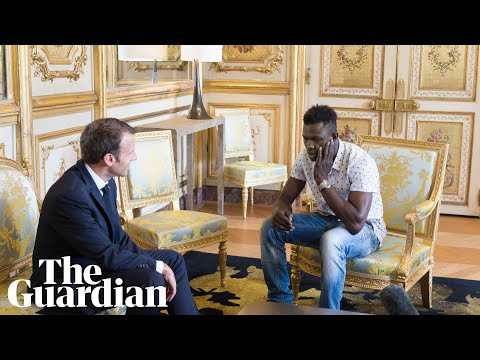 'I didn't think twice, I just climbed up', says Malian migrant who saved boy