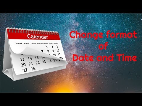 How to change date and time format in windows 10 (in Nepali)