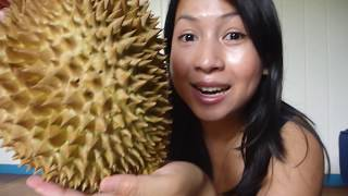 How To Open Durian - Fast and Easy