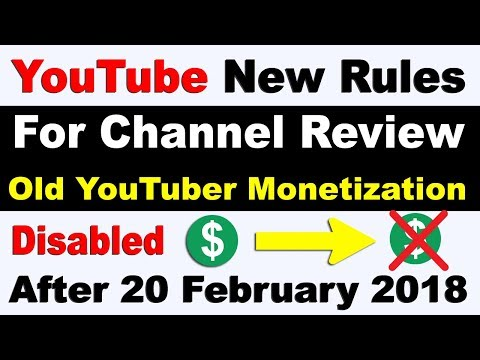 YouTube Change Monetization Rules For New And Old YouTuber
