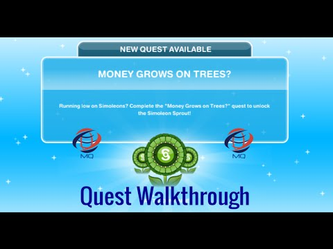 The Sims FreePlay - Money Grows on Trees? Quest Walkthrough