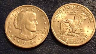 How valuable is your 1979 Susan B Anthony Dollar?
