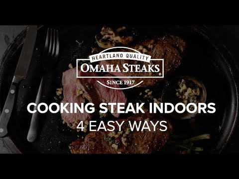 How to Cook Steak Indoors