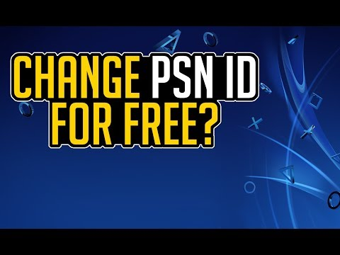 Playstation NAME ID CHANGE COMING - Change PSN ID for FREE? (PS4)