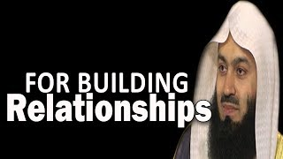 The Beauty Of Speaking & Saying Things In Relationships | Mufti Menk