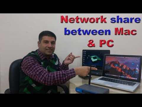 How to connect Mac with Windows network | Demo windows 10