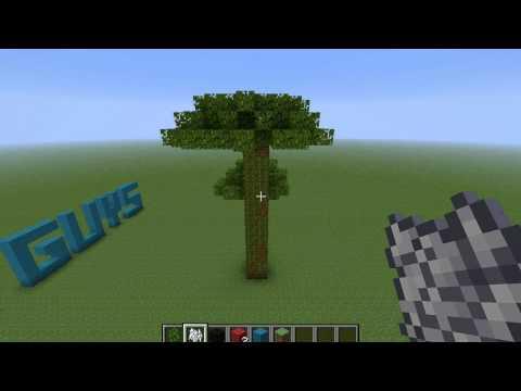 Minecraft - Make Huge Trees - Jungle Saplings
