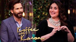 Kareena Kapoor DESPERATE To Work With Shahid Kapoor | Koffee With Karan 5