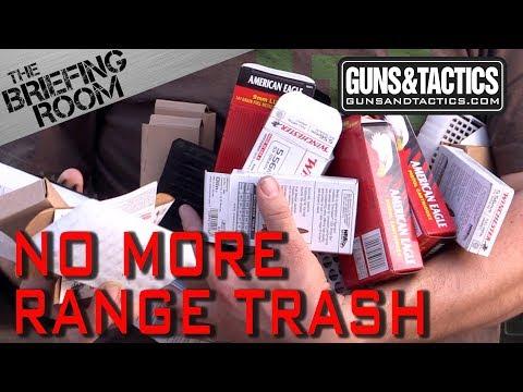 The Briefing Room No More Range Trash