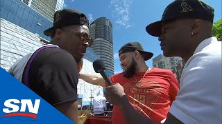 VanVleet And Lowry Floored By People Of Toronto's Response