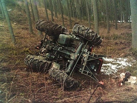 Lkt a Zetor Nehody🌲Best moments#accidents in the forest!!!