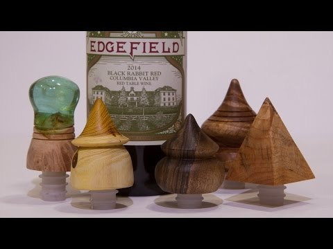 New Style Of Bottle Stoppers! Woodturning Projects