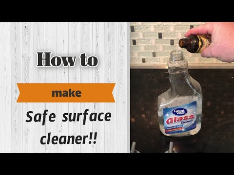 How to make Organic Surface Cleaner