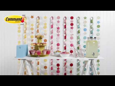 3M Command ™ Clear Decorating Clips Ideas