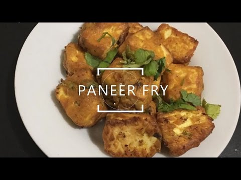 Spicy Paneer Fry | Tofu Fry | Easy and Quick