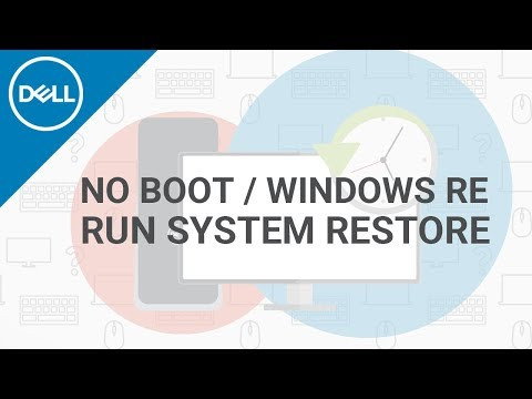 How to Run System Restore Windows 10 (Official Dell Tech Support)