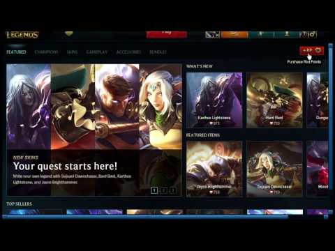 League of Legends: How to Redeem Code (Easy)