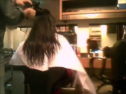 Long 2 layers hair cut Tutorial