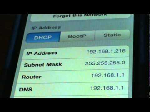 iPhone WIFI fix