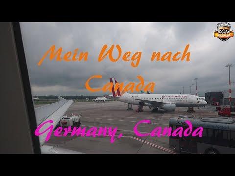 Heimreise / Gruß an Sven / Germany , Canada / # 114