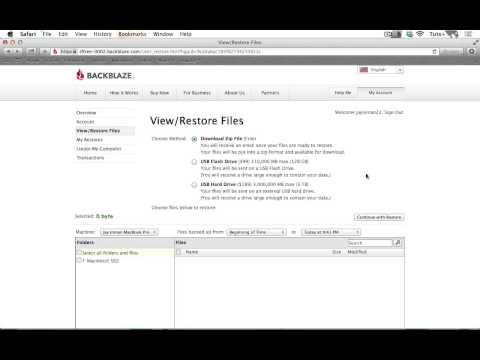How To Install and Use Backblaze