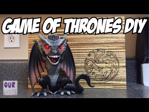 How to Make a Game of Thrones Cutting Board from Recycled Wood - OurHouse DIY