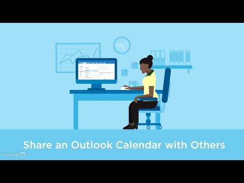 Sharing an Outlook calendar with others
