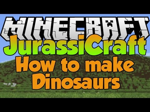 How to Make Dinosaurs in JurassiCraft 2.0