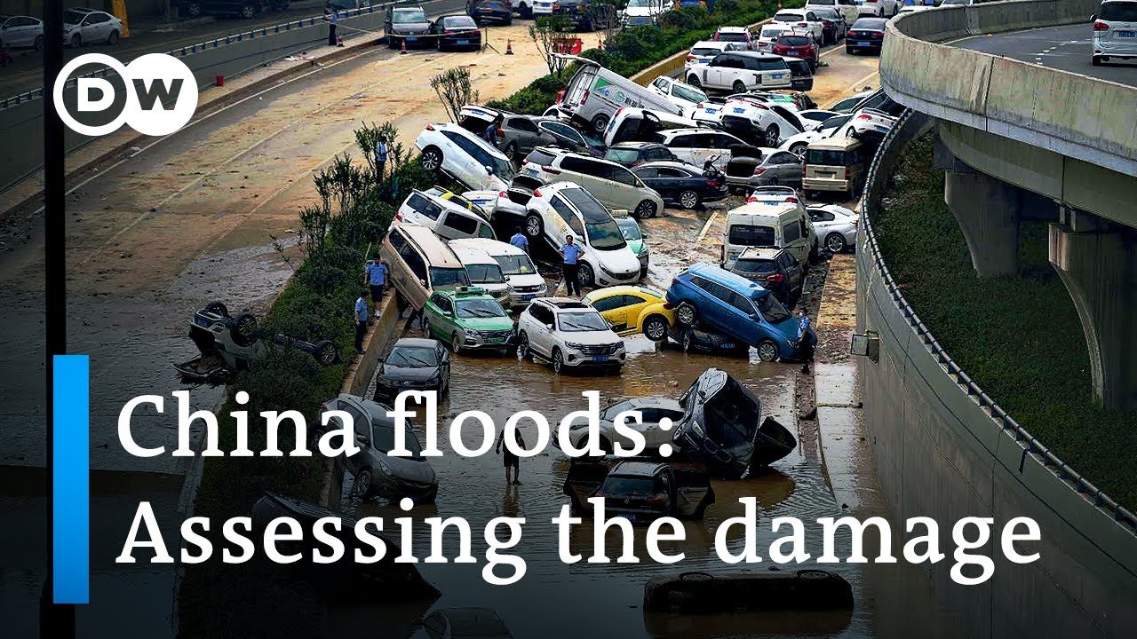 China floods: Dozens dead and thousands displaced in Henan   DW News