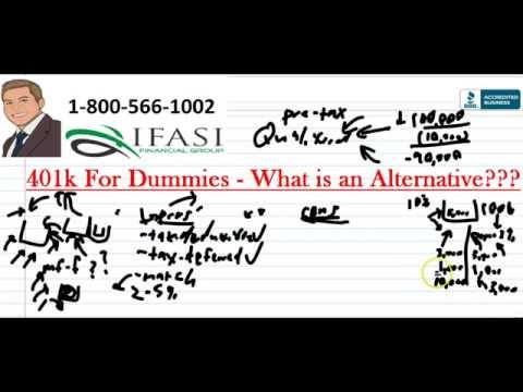 401k for Dummies - What is a 4o1k?