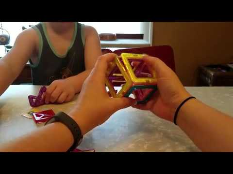 Magnetic Building Block Toy Set Review