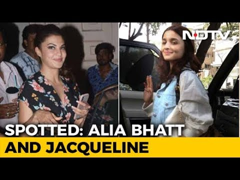Celeb Spotting: Alia Bhatt, Jacqueline Fernandez & Others