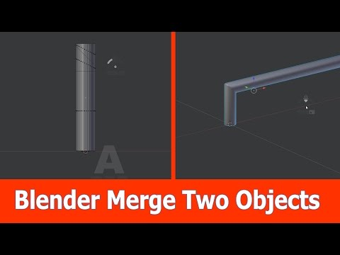 Blender Merge Objects into One