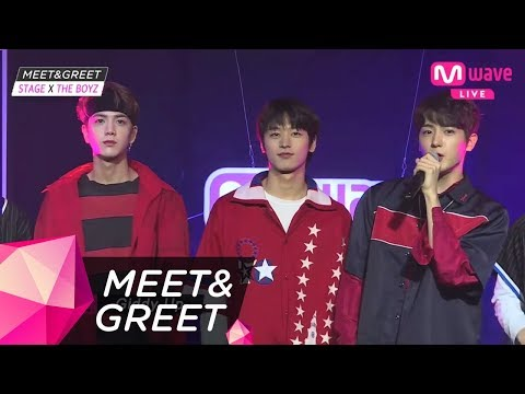 [MEET&STAGE] The good looking guy and the other good looking guy! THE BOYZ 'Giddy up'