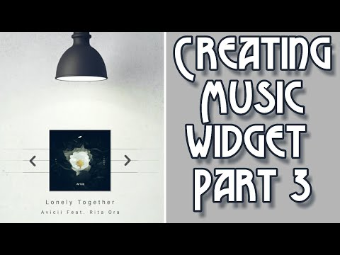 How To Create A Cool Music Widget Using KWGT...Part 3