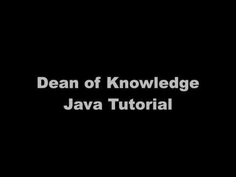 JavaParametersAndArgumentsVideo