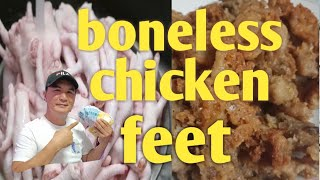 BONELESS CHICKEN FEET (good business)