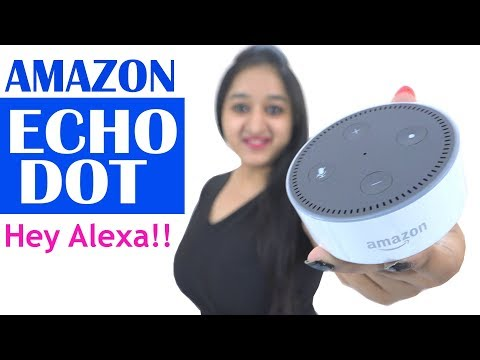 AMAZON ECHO DOT- Unboxing, Setup & Overview- Exciting Offer- In Hindi (With Offer Link)