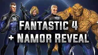 Download Fantastic 4 + Namor Reveal! - MARVEL Strike Force Video