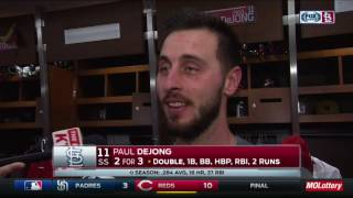 Paul DeJong says Cardinals are playing good baseball