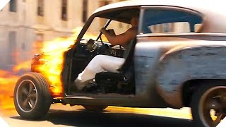 "FAST AND FURIOUS 8 - ""Dom Is On Fire"" Clip + Trailer (2017)"