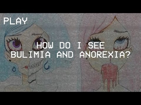 Drawing: How Do I See Bulimia And Anorexia?